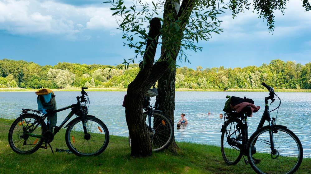Seen, Wälder und Natur umgeben den Wasserturm Berlin Altlienicke®