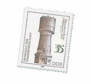 Wahrzeichen Briefmarke Wasserturm Altglienicke